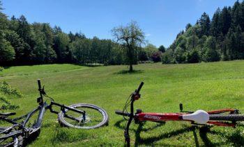 Bike und Ausblick